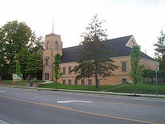 Old Silk Stocking Neighborhood - Highland Park Church