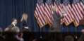 Hillary walking on stage to deliver her concession speech 04.png