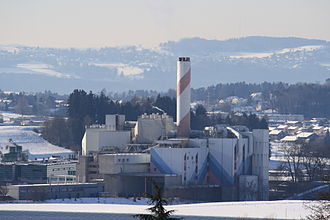 Hinwil - Kehrichtverbrennungsanlage Zürcher Oberland (KEZO)