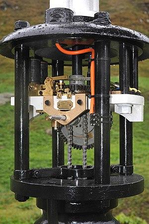 Matthäus Hipp - Drive mechanism of Hipp's Wendescheibe