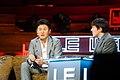 Hiroshi Mikitani, Chairman & CEO, Rakuten & Tim Bradshaw, Digital Media Correspondent, Financial Times @ LeWeb London 2012 Central Hall Westminster-1791.jpg