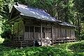 Hitsujisaki jinja (Mano) Haiden.JPG