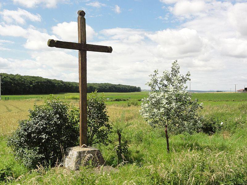 Hoéville (M-et-M) croix de chemin