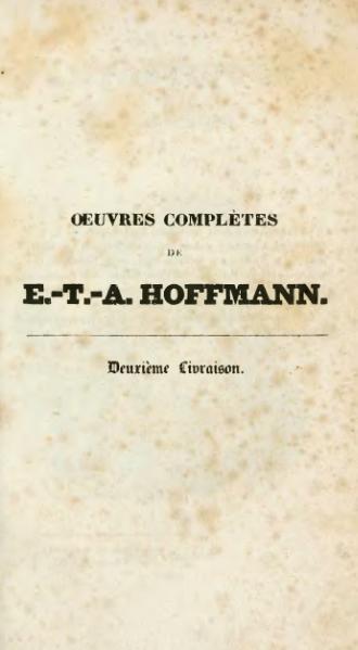 File:Hoffmann - Œuvres complètes, t. 8, trad. Loève-Veimars, 1830.djvu