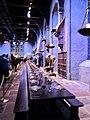 Hogwart's Great Hall, Warner Bros Harry Potter Studios 05.jpg