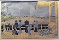 Hokusai, trentasei vedute del monte fuji, il padiglione sazai del tempio dei 500 rakan, 1830-32.JPG