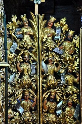 Holy Trinity Church, Zhovkva - Image: Holy Trinity Church Zhovkva Holy Doors