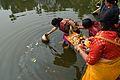Holy Water Collection - Upanayana Ceremony - Simurali 2015-01-30 5350.JPG