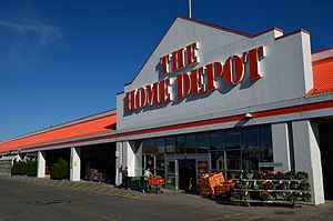 The Home Depot - The Home Depot store in Markham, Ontario, Canada.