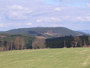 Homert (Lenne Mountains) - The Homert viewed from the South-West
