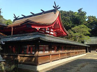 Munakata Taisha Shinto shrine in Fukuoka Prefecture, Japan