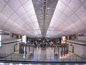 1990s in Hong Kong - New Hong Kong International Airport, opened 1998