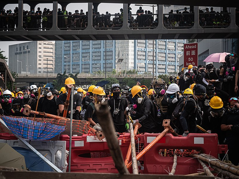 Hong Kong protests - Kwong Tong March 20190824 - P1066325.jpg