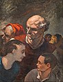 Honoré Daumier - On The Barricades (Family On The Barricades) - Google Art Project.jpg