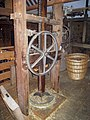 Hop Press of the Oast House at The Museum of Kent Life - geograph.org.uk - 1498033.jpg