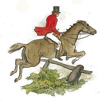 Tally-ho - Image: Horse and Rider