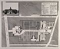 Hospice des Orphelines, Paris; floor and street plans and fa Wellcome V0014305.jpg
