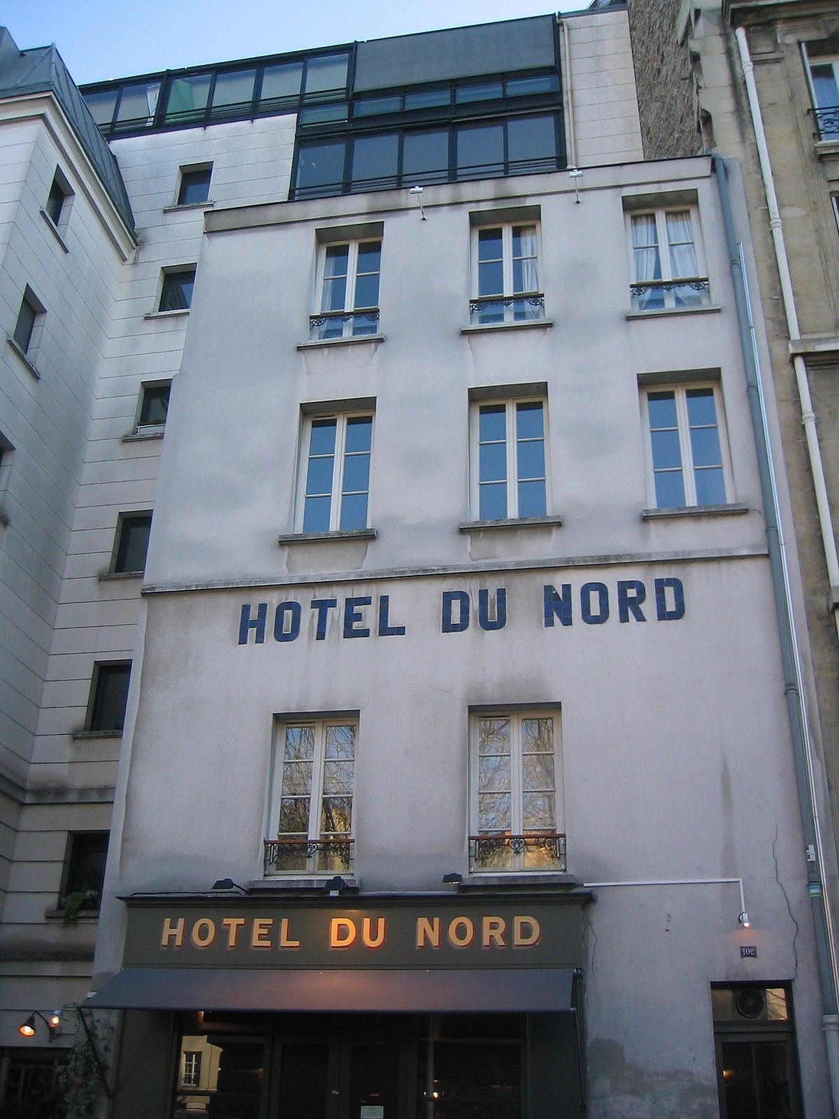 Hotel du nord wikipedia wolna encyklopedia for Decor hotel du nord