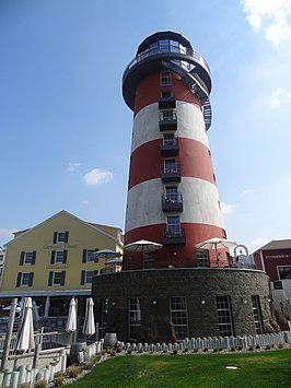 De vuurtoren van Hotel Bell Rock, met op de begane grond Ammolite - The Lighthouse Restaurant