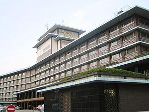Hotel Okura (ホテルオークラ), in Minato, Tokyo, Japan