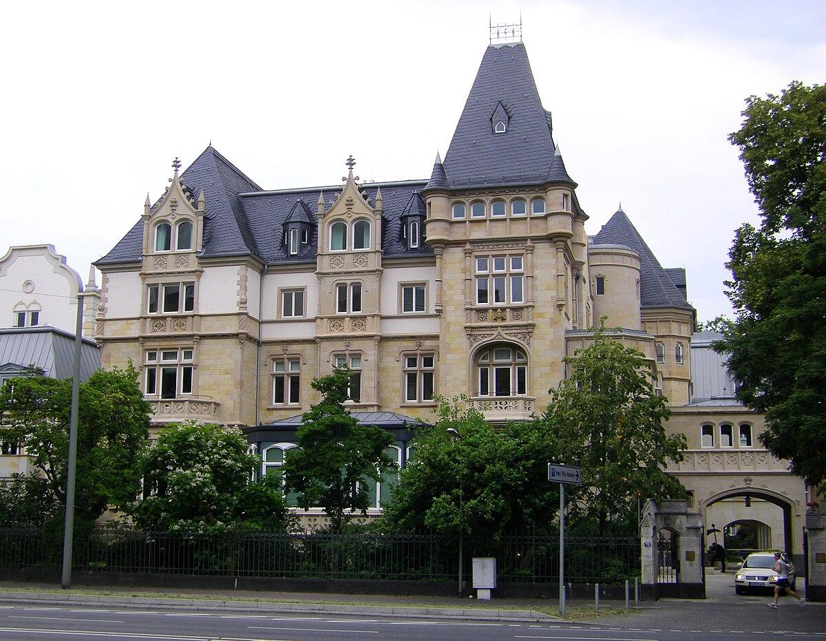 Hotel Villa D Est Strasbourg Parken