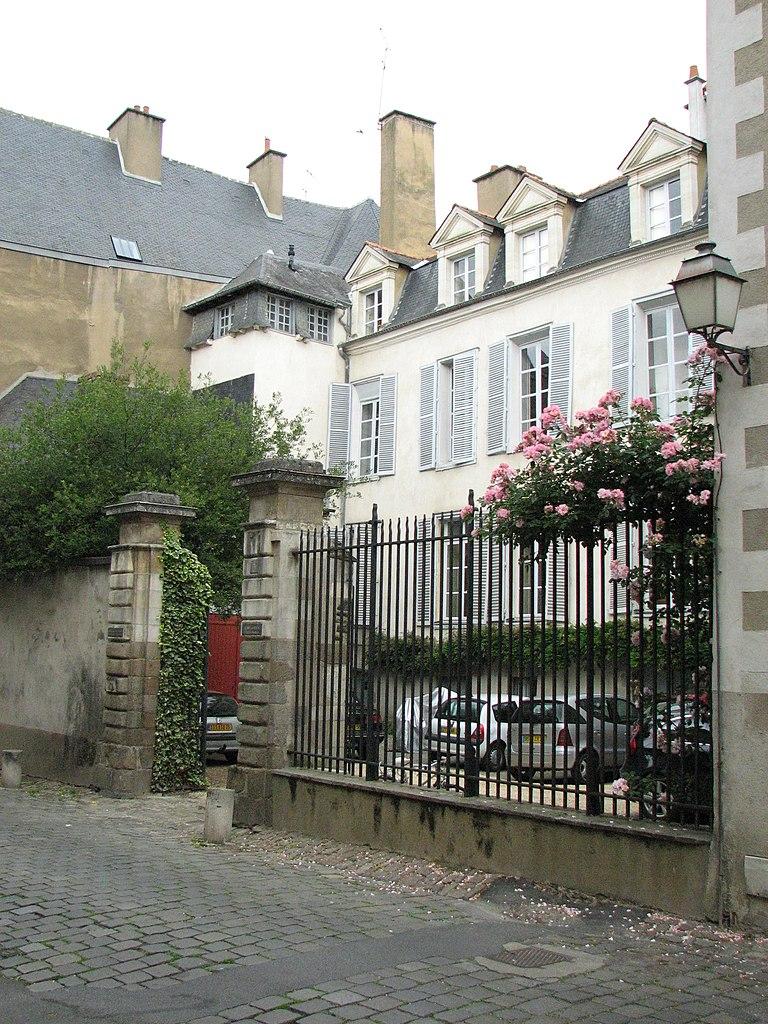 Fichier Hotel Particulier  3 Rue De Corbin  Rennes Jpg