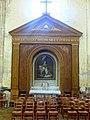 Houdan (78), église Saint-Jacques et Saint-Christophe, croisillon nord, retable.jpg