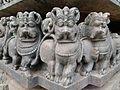 Hoysala architecture in Channagilva temple Beluru, Karnataka.jpg