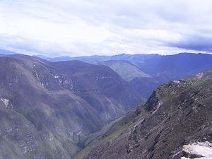 Huancas District - Sonche River near Huancas