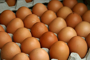 Vegetarian nutrition - Eggs are a source of vitamin B12 for lacto-ovo-vegetarians.
