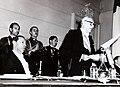 Hugo Zepeda Barrios, Jorge Alessandri y edecán Humberto Labbé, 21 de mayo de 1963.JPG