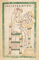 Hugues de Saint-Victor rédige le Didascalicon - Parchemin. Vucanius 45, f° 130 (Leyde, Bibliothek der Rijkuniversiteit).png