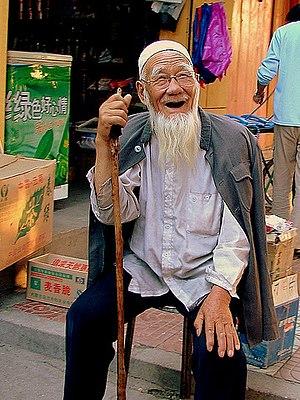 Elderly Hui man