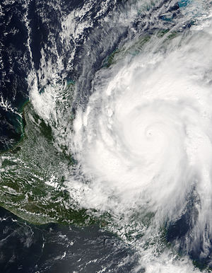 Rapid intensification - Hurricane Wilma at record intensity
