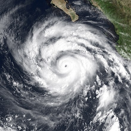 Linda, the second most intense Pacific hurricane on record Hurricane Linda Sep 12 1997 1700Z.jpg