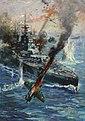 INF3-45 Aircraft attack British battleship Artist Terence Cuneo.jpg