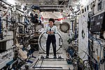 ISS-61 Jessica Meir inside the Kibo lab during interviews.jpg