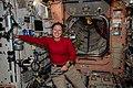 ISS-64 Shannon Walker pauses inside the Unity module.jpg