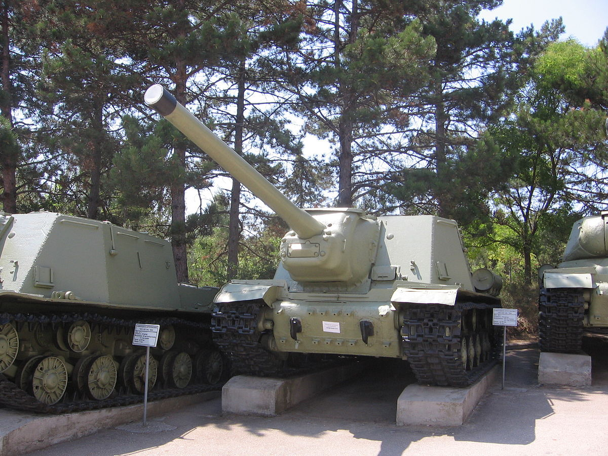 Px Isu Model At The Museum On Sapun Mountain Sevastopol