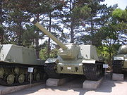 ISU-122 model 1944 at the Museum on Sapun Mountain Sevastopol 2