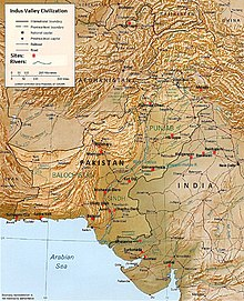 Indus River Location On World Map.Indus Valley Civilisation Wikipedia