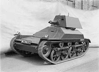 Light tanks of the United Kingdom - Light Tank Mk II.