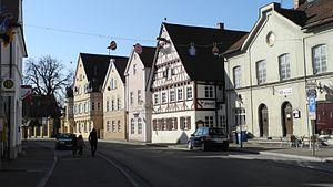 Ichenhausen - Image: Ichenhausen Ortszentrum