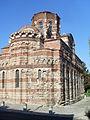 Iglesia de Cristo Pantocrátor, lateral, Nesebar, Bulgaria, verano de 2011.JPG