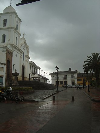 Boyacá Department - Guateque, in southeastern Boyacá during a rainy season
