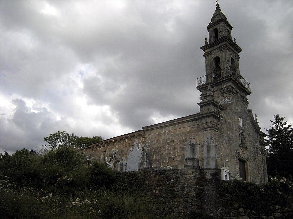 Igrexa de San Martiño de Porqueira, Porqueira