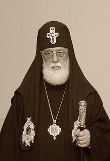 Ilia II of Georgia 20th and 21st-century Patriarch of the Georgian Orthodox Church