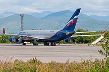 Міжнародний аеропорт «Єлізово»-Авіакомпанії та напрямки-Ilyushin Il-96-300, Aeroflot - Russian Airlines AN1799077