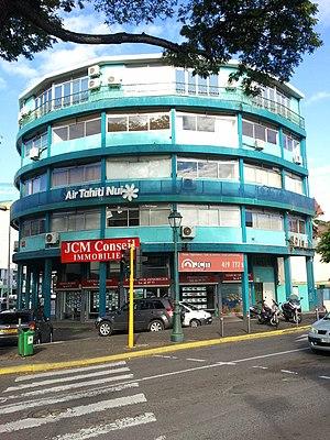 Air Tahiti Nui - Immeuble Dexter, the head office of Air Tahiti Nui in Papeete