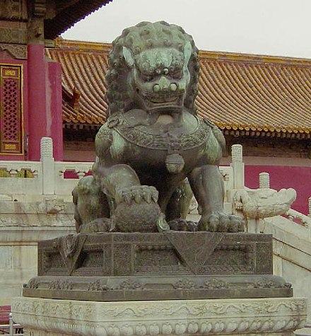 lion gueule ouverte